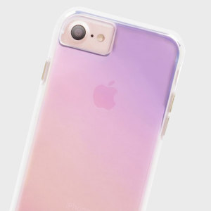 Ultra slim protection for your iPhone 7 with the Case-Mate Naked Tough case with an attractive eyecatching iridescent design. Built to withstand sudden drops and accidental falls whilst maintaining a minimal look.
