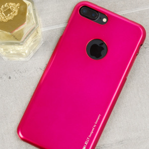 A premium gel case for your iPhone 7 Plus. The Mercury Goospery iJelly features a superb hot pink gloss UV finish and robust high quality TPU gel material that will take all the knocks and look fabulous while doing so.
