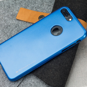 A premium gel case for your iPhone 7 Plus. The Mercury Goospery iJelly features a superb blue gloss UV finish and robust high quality TPU gel material that will take all the knocks and look fabulous while doing so.
