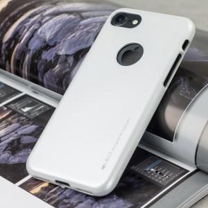 La coque Mercury Goospery iJelly dispose d'une superbe couleur brillante avec revêtement UV. Grâce à son matériau en gel TPU robuste de haute qualité, votre iPhone 8 / 7 sera protégé avec un look d'enfer.