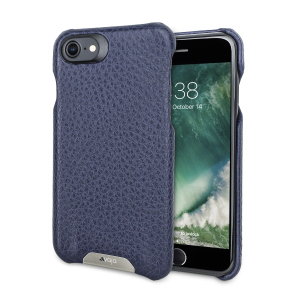 Treat your iPhone 7 to exquisite handmade craftsmanship and the highest quality materials. Featuring genuine Floater and Caterina leather, the Vaja Grip premium leather shell case in two beautiful shades of blue is something very special indeed.