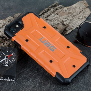 Coque iPhone 7 UAG Pathfinder – Orange / Noir