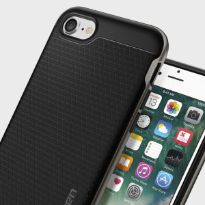 Funda iPhone 7 Spigen Neo Hybrid - Metalizada