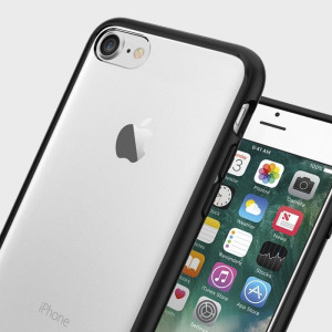 Protect your iPhone 7 with the unique Ultra Hybrid black bumper from Spigen. Complete with a clear back and air cushion technology to show of and protect your iPhone's sleek modern design.