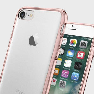 Funda iPhone 7 Spigen Ultra Hybrid - Rosa