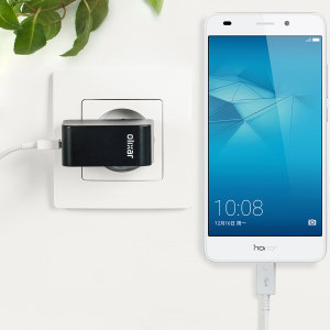 Charge your Huawei Honor 5C and any other USB device quickly and conveniently with this compatible 2.4A high power micro USB EU charging kit. Featuring an EU wall adapter and micro USB cable.