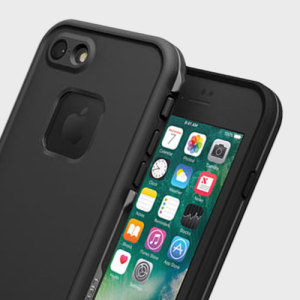 Make your phone waterproof and experience the freedom to surf, sing in the shower, ski, snowboard, work on construction sites and have true iPhone 7 freedom anywhere you go with the LifeProof Fre case in black!