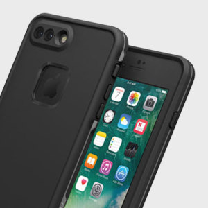 Make your phone waterproof and experience the freedom to surf, sing in the shower, ski, snowboard, work on construction sites and have true iPhone 7 Plus freedom anywhere you go with the LifeProof Fre case in black!