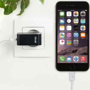 Charge your iPhone 6 and any other USB device quickly and conveniently with this compatible 2.4A high power Lightning EU charging kit. Featuring an EU wall adapter and Lightning cable.