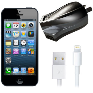 High Power 2.4A iPhone 5 Wall Charger - Australian Mains