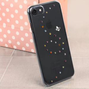 Dress up your iPhone 7 with Swarovski Crystals, making it sparkle and shine with this new Cotton Candy Case from the Bling My Thing Papillon Collection.