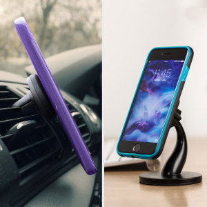 Dock your smartphone effortlessly thanks to the Universal Magnetic Vent Car Holder and Desk Stand 2-in-1 kit from Olixar. Extremely easy to install and fully case compatible, these really are the best way to view your phone while you drive, rest and work.