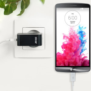 Charge your LG G3 and any other USB device quickly and conveniently with this compatible 2.4A high power micro USB EU charging kit. Featuring an EU wall adapter and micro USB cable.