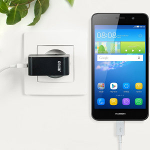 Charge your Huawei Y6 and any other USB device quickly and conveniently with this compatible 2.4A high power micro USB EU charging kit. Featuring an EU wall adapter and micro USB cable.