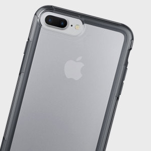 Funda iPhone 7 Plus Peli Adventurer - Transparente/ Gris Oscuro