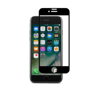 Designed for the iPhone 7, the black IonGlass Glass Screen Protector from Moshi has been designed to protect your display while ensuring the iPhone screen maintains the highest possible level of fingertip sensitivity and clarity.