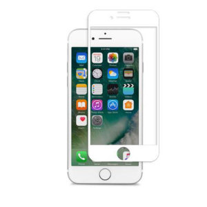 Designed for the iPhone 7, the white IonGlass Glass Screen Protector from Moshi has been designed to protect your display while ensuring the iPhone screen maintains the highest possible level of fingertip sensitivity and clarity.