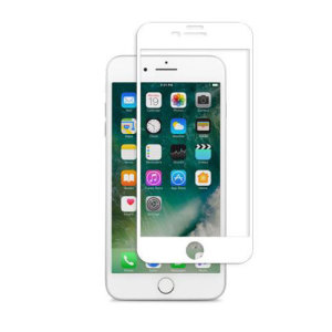 Designed for the iPhone 7 Plus, the white IonGlass Glass Screen Protector from Moshi has been designed to protect your display while ensuring the iPhone screen maintains the highest possible level of fingertip sensitivity and clarity.