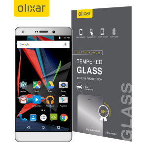 This ultra-thin tempered glass screen protector for the Archos Diamond 2 Plus offers toughness, high visibility and sensitivity all in one package.