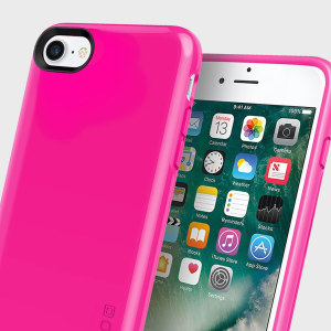 Military grade engineered, the Incipio Haven Lux in pink protects against scratches and impacts, while the high gloss finish provides a premium touch and feel for your iPhone 7.