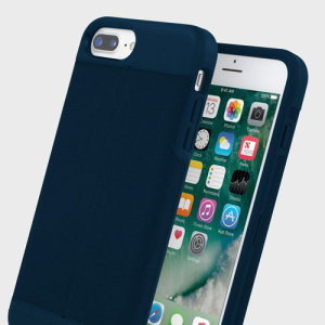 Inspired by your everyday wardrobe, the Esquire Wallet iPhone 7 Plus Case in navy from Incipio combines textured fabric with a hard shell for all-round protection. With a hidden compartment, this functional case is great for storing credit cards.