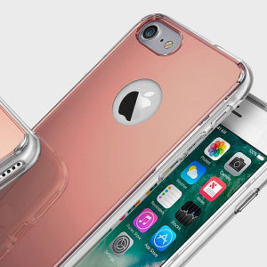 Allow your sense of style and sophistication to shine with the Fusion Mirror iPhone 8 / 7 case from Ringke. Featuring an ultra-thin layer of polycarbonate polished to a mirror shine, this case keeps your iPhone 8 / 7 stylish and protected.