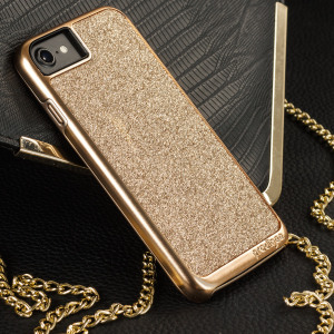 Add a touch of bling to your iPhone 7, whilst keeping it well protected with the rose gold Sparkle Fusion Glitter Case from Prodigee. Slim, light and incredibly attractive, this case really does have it all and is screen protector friendly.