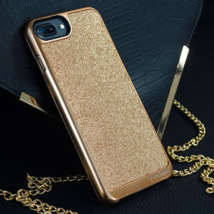 Add a touch of bling to your iPhone 7 plus, whilst keeping it well protected with the rose gold Sparkle Fusion Glitter Case from Prodigee. Slim, light and incredibly attractive, this case really does have it all and is screen protector friendly.