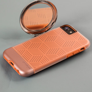 Add a touch of geometric flair to your iPhone 7 whilst keeping it well protected with the rose gold Stencil Case from Prodigee. Slim, light and eye-catching, this case really does have it all and is also screen protector friendly.