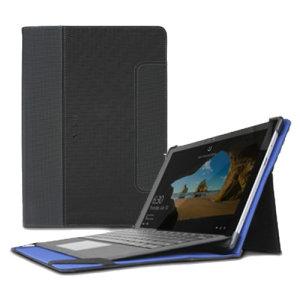 Protégez votre Microsoft Surface Pro 4 / 3 à tout moment avec la housse Maroo Tactical Folio en coloris noir et bleu. Pratique et élégante, elle comprend un astucieux support de visionnage pliable et vous permet ainsi de positionner votre appareil jusqu'à 140 degrés.