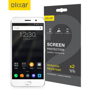 Olixar Lenovo Zuk Z1 Screen Protector 2-in-1 Pack