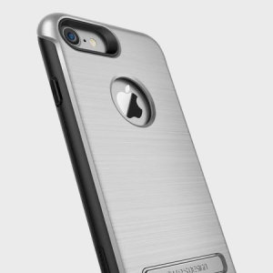 Protect your iPhone 8 / 7 with this precisely designed case in satin silver from VRS Design. Made with tough, durable yet slim materials, this hardshell construction with shock absorbent core follows the curves of your phone perfectly.