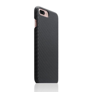 Treat your iPhone 7 Plus to premium handcrafted workmanship and the highest quality materials. Featuring genuine Italian Carbon pattern leather, the SLG Design shell case is something very special and will protect your phone in the style it deserves.
