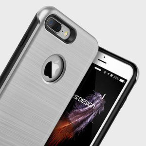 Protect your iPhone 7 Plus with this precisely designed case in satin silver from VRS Design. Made with tough, durable yet slim materials, this hardshell construction with shock absorbent core follows the curves of your phone perfectly.