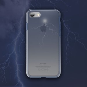 The Patchworks Level Sky is a special edition of a classic hybrid protective case for iPhone 7. 'Storm' features a dramatic semi-transparent stormy sky sky graphic that adds to your phone's charms with some artistic style.