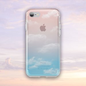 The Patchworks Level Sky is a special edition of a classic hybrid protective case for iPhone 7. 'Noon' features a dreamy semi-transparent warm afternoon sky graphic that adds to your phones charms with some artistic style.