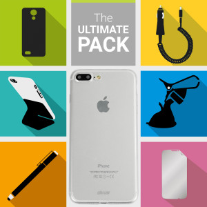 The Ultimate Pack for the iPhone 7 Plus consists of fantastic must have accessories designed specifically for your device.