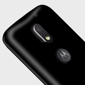 Custom moulded for the Motorola Moto E3, this solid black FlexiShield case by Olixar provides slim fitting and durable protection against damage.