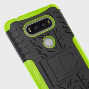 Olixar ArmourDillo LG V20 Tough Case - Green / Black