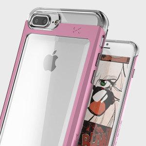 De Cloak Tough Case in transparant van Ghostek komt compleet met een screenprotector om je iPhone 7 Plus te voorzien van fantastische all-round bescherming.