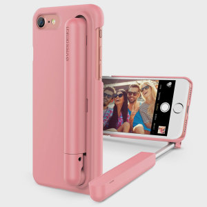Protect your iPhone 7 and take great selfies with this precisely designed fully adjustable compact selfie case in Snow Pink. The VRS Design Cue Stick is a fantastic option for selfie lovers and the stick can be used as a viewing stand too.