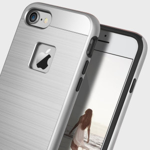 Protect your iPhone 7 with this ultra slim case in Silver Titanium, which protects as well as providing a stunning full body protection in an attractive dual design.