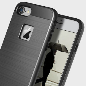 Protect your iPhone 7 with this ultra slim case in Black Titanium, which protects as well as providing a stunning full body protection in an attractive dual design.