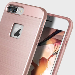 Coque iPhone 7 Plus Obliq Slim Meta – Or rose