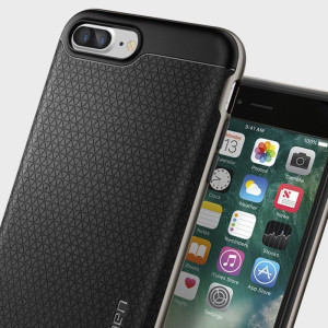 Funda iPhone 7 Plus Spigen Neo Hybrid - Metalizada