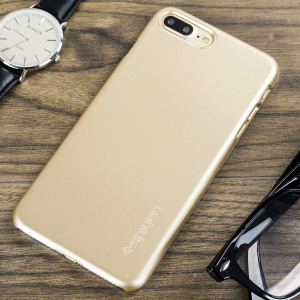 Coque iPhone 7 Plus Spigen Thin Fit – Or Champagne