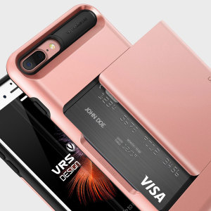 Añada protección a su iPhone 7 Plus con esta funda fabricada por VRS Design. Diseñada y construida con materiales ligeros y delgados, pero que añaden una excelente protección al dispositivos, además incluye una función realmente cómoda para guardar tarjetas o documentos.