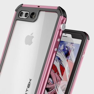 Equip your iPhone 7 Plus with the most extreme and durable protection around! The pink Ghostek Atomic 3.0 is completely waterproof and provides rugged drop protection with it's HD scratch resistant screen protector, whilst keeping the phone slim.