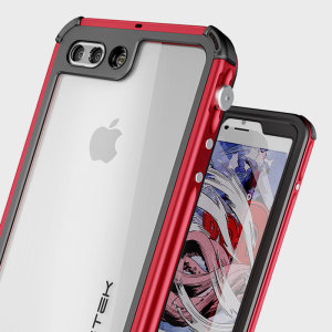 Equip your iPhone 7 Plus with the most extreme and durable protection around! The red Ghostek Atomic 3.0 is completely waterproof and provides rugged drop protection with it's HD scratch resistant screen protector, whilst keeping the phone slim.