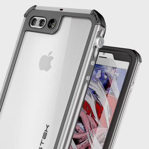 Coque iPhone 7 Plus Ghostek Atomic 3.0 Waterproof Tough – Argent
